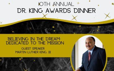 10th Annual Dr. King Awards Dinner
